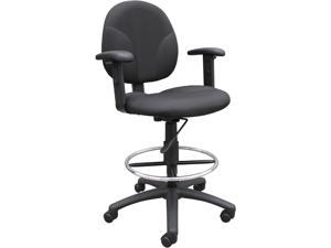 BOSS Office Products B1691-BK Drafting Stools