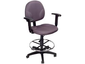 BOSS Office Products B1691-GY Drafting Stools