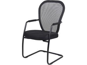 BOSS Office Products B6609-BK Guest Chairs
