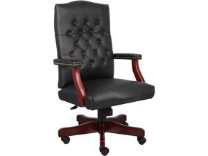 BOSS Office Products B905-BK Executive Seating