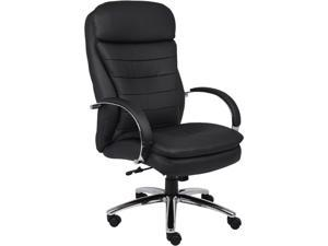 BOSS Office Products B9221 Deluxe Executive Contemporary Chair