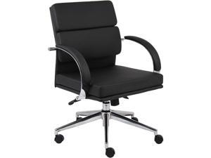 BOSS Office Products B9406-BK Executive Chairs