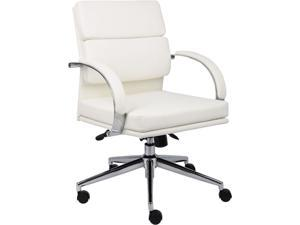 BOSS Office Products B9406-WT Executive Chairs