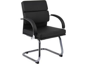 BOSS Office Products B9409-BK Guest Seating