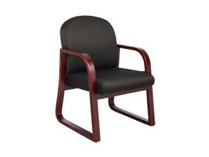 BOSS Office Products B9570-BK Guest Chairs