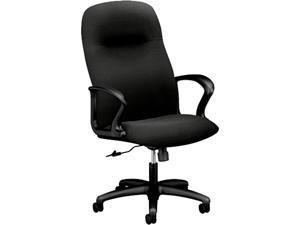 HON H2071.H.CU10.T Gamut Series Executive High-Back Swivel/Tilt Chair, Black