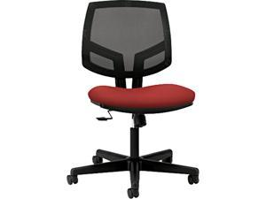 HON H5713.GA42.T Volt Series Mesh Back Task Chair with Synchro-Tilt, Crimson Fabric