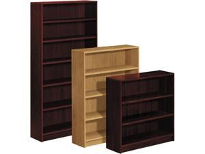 HON 1877N 1870 Series Bookcase, 6 Shelves, 36w x 11-1/2d x 84h, Mahogany