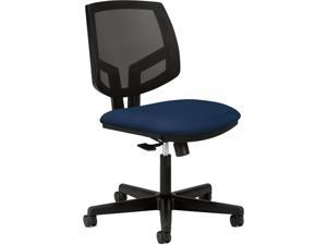 HON Volt Mesh Back Task Chair for Office or Computer Desk, Navy