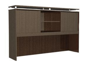 "66"" x 15"" SedinaAG Series Hutch with Sliding Doors - Espresso"