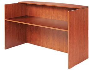 Alera ALEVA327236MC Valencia Series Reception Desk w/Counter, 71w x 35 1/2d x 42 1/2h