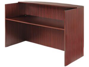 Alera ALEVA327236MY Valencia Series Reception Desk w/Counter, 71w x 35 1/2d x 42 1/2h