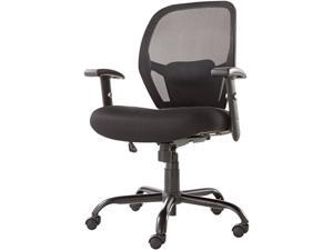 Alera Merix450 Series MX4517 (ALEMX4517)Mesh Big/Tall Mid-Back Swivel/Tilt Chair, Black