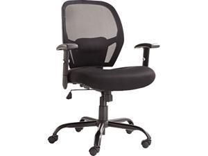 Alera Merix450 Series MX4517 (ALEMX4517)Mesh Big/Tall Mid-Back Swivel/Tilt Chair, Black
