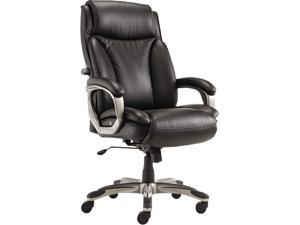 Alera ALEVN4119 - Veon Series Executive High-Back Leather Chair, w/ Coil Spring Cushioning, Black