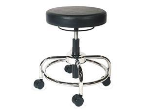Alera ALEUS46CS10G (AAPCS614) HL Series Height-Adjustable Utility Stool, Black