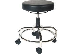 Alera Plus AAPCS614 - HL Series Height-Adjustable Utility Stool, Black