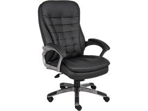 Executive Chair High Back Pewter Base Arms Rosewill