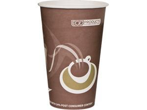 Eco-Products EP-BRHC16-EWPK 16 oz Evolution PCF World Hot Cups -Purple - 50/Pack
