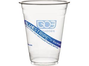 Eco-Products EP-CR16PK 16 oz BlueStripe Cold Cups - 50/Pack