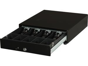 APG Vasario VP101-BL1416 Series 1416 Cash Drawer – Painted Front, No Media, Manual, Black