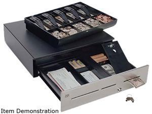 MMF Advantage ADV-114A11310-04 Cash Drawer – Printer Driven, Black