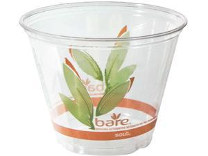 SOLO Cup Company RTP9R-J9036 Bare Eco-forward Recycled Content Rpet Plastic Cold Cups
