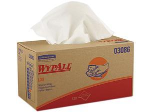 Kimberly-Clark Professional KCC 03086 WYPALL* L30 Wipers - 1200 Wipes/Case