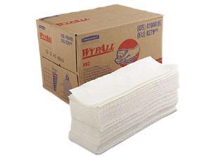 Kimberly-Clark Professional KCC 41044 WYPALL X80 Wipers, BRAG Box, 12 1/2 x 16 4/5, White, 160/Box