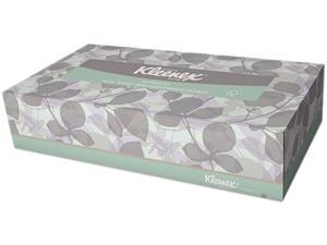 Kimberly-Clark Professional 21601BX Facial Tissue, 2-Ply, White, 125/Box