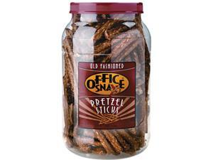 Office Snax 00083 Sticks 40 oz Tub Pretzel Assortment