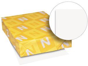 Wausau Paper 80211 Exact Vellum Bristol Cover Stock, 67 lbs., 8-1/2 x 11, White, 250 Sheets