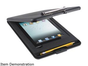 Saunders 65558 - SlimMate Storage Clipboard with iPad Air Compartment, Black