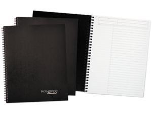 Cambridge 45016 - Limited Action-Planner Wirebound Business Notebook, 7 1/4 x 9 1/2, Black, 80 Sheets