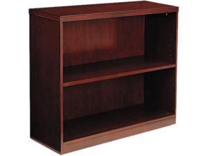 Mayline BC3629C Luminary Series Two-Shelf Bookcase, 34 5/8w x 12d x 29h, Cherry
