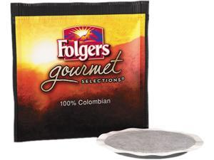 Folgers FOL-63100 Gourmet Selections Coffee Pods, 100% Colombian, 18/Box