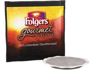 Folgers FOL-63101 Gourmet Selections Coffee Pods, 100% Colombian Decaf, 18/Box