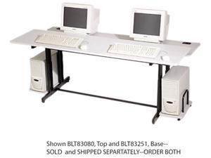 Split-Level Computer Training Table Top, 72 x 36, (Box One)