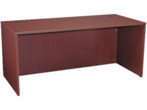 "By HON BL2102 Desk Shell 66"" Wide x 30"" Deep - Mahogany"