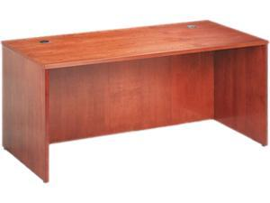 66W x 30D x 29H BW Veneer Series Bourbon Cherry Rectangle Top Desk Shell