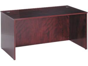 60W x 30D x 29H BW Veneer Series Mahogany Rectangle Top Desk Shell