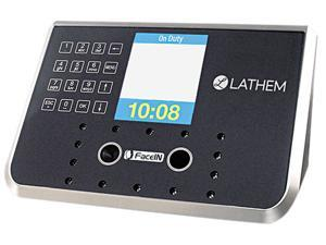 Lathem Time FR650-KIT Face Recognition Time Clock System. 500 employees, Gray, 7 1/4 x 3 1/2 x 5 1/4