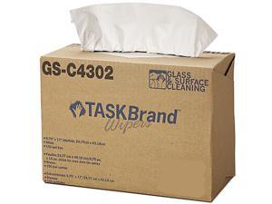 Hospital Specialty HOS GS-C4302 900 Sheet Task Brand Glass & Surface Cleaning Wipes