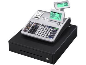 Casio PCR-T2300 Electronic Cash Register With LCD Display - Silver
