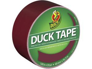 Duck 1311061 Colored Duct Tape, Maroon, 1.88-Inch by 20 Yards