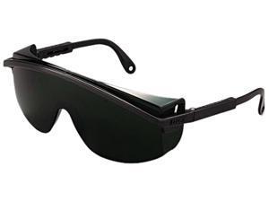 Uvex 763-S1112 Astrospec 3000 Safety Glasses, Black Frame, Shade 5.0 Lens