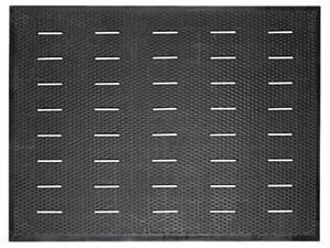 Guardian 34030401 Free Flow Comfort Utility Floor Mat, 36 x 48, Black