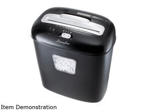 Swingline 1757393 EX10-05 Light-Duty Cross-Cut Shredder, 10 Sheet Capacity