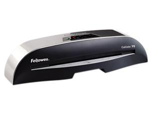 "Fellowes Callisto 95 Laminator, 9 1/2"" wide, 5mil Maximum Thickness"