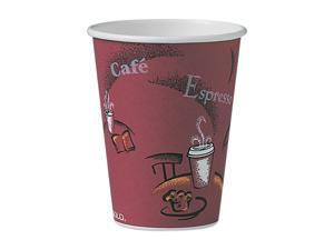 SOLO Cup Company                         Bistro Design Hot Drink Cups, Paper, 12 oz., 300/Carton